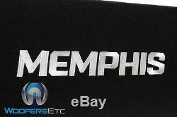 Memphis Prxe12d 12 1200w Loaded Subwoofers Enceinte Acoustique Bass Haut-parleurs Ported Box