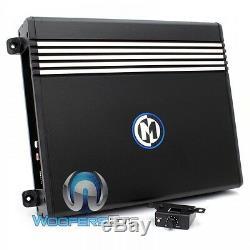 Memphis Srx1.250 Amp Monoblock 250 W Rms Haut-parleurs Subwoofers Ampli Basse Nouveau
