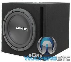 Memphis Srx112 12 Caisson De Basses-parleurs Bass + Ported Box + 2 Canaux Amplificateur Nouveau