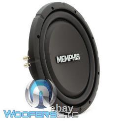 Memphis Srxs1240 12 500w Single 4-ohm Shallow Thin Subwoofer Bass Speaker Nouveau