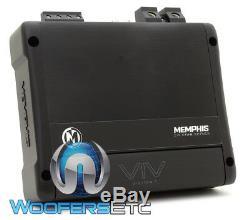 Memphis Viv1100.1 Pro Monoblock 2200w Max Subwoofers Haut-parleurs D'ampli Basse Nouveaux