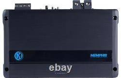 Memphis Viv2200.1 Monoblock 4400w Max Subwoofers Bass Speakers Dsp Amplificateur Nouveau