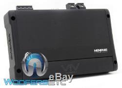 Memphis Viv2200.1 Monoblock 4400w Max Subwoofers Enceintes Bass Dsp Amplificateur Nouveaux