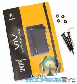 Memphis Viv900.5 5 Canaux 900w De Composants Rms Haut-parleurs Amplificateur Nouveau