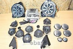Mercedes C W205 Amplificateur De Haut-parleurs Burmester Sound System Subwoofer A2229006514