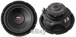 New (2) 12 DVC Subwoofer Bass. Remplacement. Haut-parleurs. Double 4ohm. Car Audio. Paire. 12 Pouces