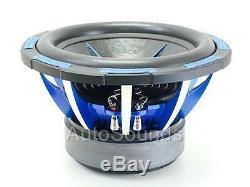New Power Acoustik Mofo-2400 Watt 10 104x Double 4 Ohms Voiture Audio Subwoofer