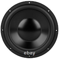 Nouveau 12 Haut-parleur De Remplacement Audio Subwoofer À Domicile. Basse Woofer. 800w. 4 Ohm Svc Sous