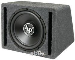 Nouveau 12 Powered Car Audio Bass Subwoofer Haut-parleur. Boîte D'enceinte Ported. Active