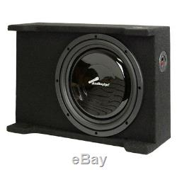 Nouveau 12 Shallow Mont Subwoofer Bass. Box Boîtier. Car Audio. Sous. Svelte