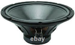 Nouveau 15 Home Audio Subwoofer Remplacement Bass Speaker. Caisson. 4ohm. 600w. 15po
