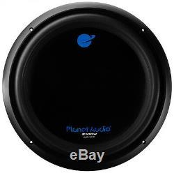 Nouveau 15 Subwoofer DVC Président Bass. 2100w Dual Voice Woofer De Bobine. 4 Ohms. Audio Voiture