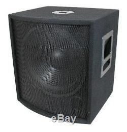 Nouveau 15 Subwoofer Président. Audio Pro. 700w. Dj. Pennsylvanie. Woofer. 8ohm. Quinze Pouces Bass Sous