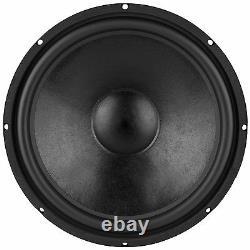 Nouveau 18 Woofer Speaker. Remplacement 4 Ohm. Basse. Accueil Audio Sous Son Personnalisé