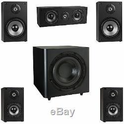 Nouveau 5.1 Surround Sound Home Cinéma Speaker System. Avec 10 Subwoofer