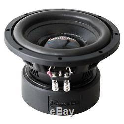 Nouveau 8 Ab DVC Subwoofer Bass. Dual 4 Ohm Voice Coil. Audio Driver Car Sub