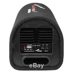 Nouveau 8 Powered Subwoofer Tube Bass. Amplificateur Intégré. Boîte De Sous-loaded Car Audio