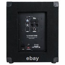 Open Boxsound Ville Metis 1400w 12 Powered Pa Dj Subwoofer Metis-12spw-r