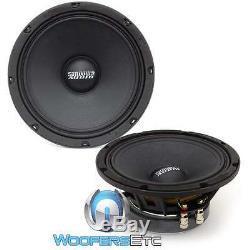 Paire Sundown Audio Sxmp-8 4 Ohms 8 250 Rms Midrange Conducteur De Véhicule Mids Haut-parleurs Nouveau