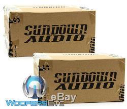 Paire Sundown Audio-sxmp 6,5 4 Ohms 6,5 200w Rms Midranges Voiture Mids Haut-parleurs Nouveau