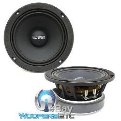 Paire Sundown Audio-sxmp 6,5 8 Ohms 6,5 200w Rms Midranges Voiture Mids Haut-parleurs Nouveau