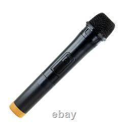 Peut Souvenir 15 Bluetooth Rechargeable Dj Pa Party Speaker Withlights MIC Usb Aux