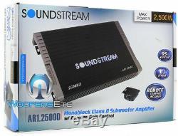 Pk 2 Soundstream Bxw124 12 2400w Subwoofers Parleurs + Ar1-2500d Bass Amplifier