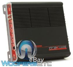 Pkg 2 Memphis Se1040 10 Subwoofers + Precision De Puissance Trax1.1200d Bass Amplifier