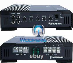 Pkg (2) Memphis Srx1244 12 Haut-parleurs Subwoofers + Se2000.1df Bass Amplificateur Nouveau