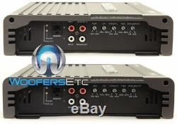 Pkg (2) Memphis Srx12d4 12 Subwoofers + Soundstream Ar1.2500d Car Amplificateur Nouveau