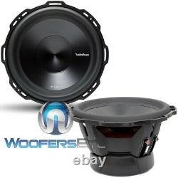 Pkg 2 Rockford Fosgate P3d4-12 Subwoofers Bass Speakers+ R2-1200x1 Amplificateur Nouveau