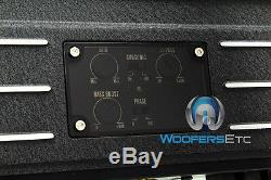 Pkg Focal Solid1 Black Monobloc Amplificateur + (2) Sub P25 10 Subwoofers Parleurs