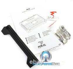 Pkg Focal Solid1 Black Monoblock Amplificateur + (2) Sous P30 12 Enceintes Subwoofers