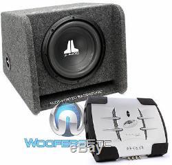 Pkg Jl Audio Cp110-w0v3 10 Portage Box + Caisson De Basses + X100.2 Amplifier