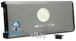 Pkg Soundstream (2) T5.152 15 Subwoofers Parleurs + T1.6000dl Bass Amplifier
