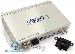 Pkg Zed Audio Mikro Amp + Monobloc Memphis Prxe12s 12 Caisson De Basses & Box