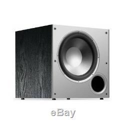Polk 10 Subwoofer Black Bass Amplificateur Audio Sonores Président Théâtre