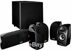 Polk Tl1600 6 Pièces Surround Speaker Son Système Avec Caisson De Basses