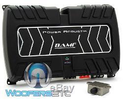 Power Acoustik Bamf1-5000d Monoblock De Caissons De Basse Basse Orateurs Amplificateur