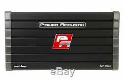 Power Acoustik Cb1-8000d Monoblock De Caissons De Basse Basse Orateurs Amplificateur Nouveaux