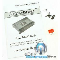 Precision Power Ice2600.1d Monoblock De Caissons De Basse De Haut-parleurs D'ampli Basse