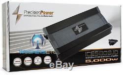 Precision Power Ice5000.1d Monoblock De Caissons De Basse De Haut-parleurs D'ampli Basse