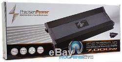 Precision Power Ice7000.1d Monobloc 7000w Caisson De Graves Haut-parleurs Ampli Basse Nouveau