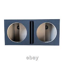 Pro Dual 15 Ported Subwoofer Enclosure Car Audio Speaker Box All Mdf