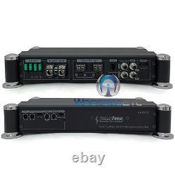 Puissance De Précision Atom A1200.1d Monoblock 2400w Subwoofers Haut-parleurs Amplificateur De Basse