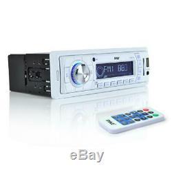 Pyle Ktmrgs03 Marine Amp Radio Système Audio-am / Fm Haut-parleurs Subwoofers & More