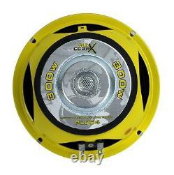 Pyle Plg64 6.5 1200w Audio De Voiture MID Bass/midrange Subwoofer Speaker Set, 2 Paires
