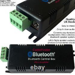 Qualitywireless / Bluetooth Haut-parleur De Plafond, Caisson De Basses / Sub & Amplificateur Hifi Amp