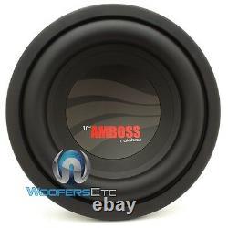 Rainbow 10 Amboss Bass Pro Subwoofer Speaker DVC Allemand Made Car Audio Sub Nouveau