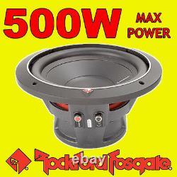 Rockford Fosgate 10 10 Pouces 500w Car Audio Punch Bass Sub Subwoofer 25cm 4ohm